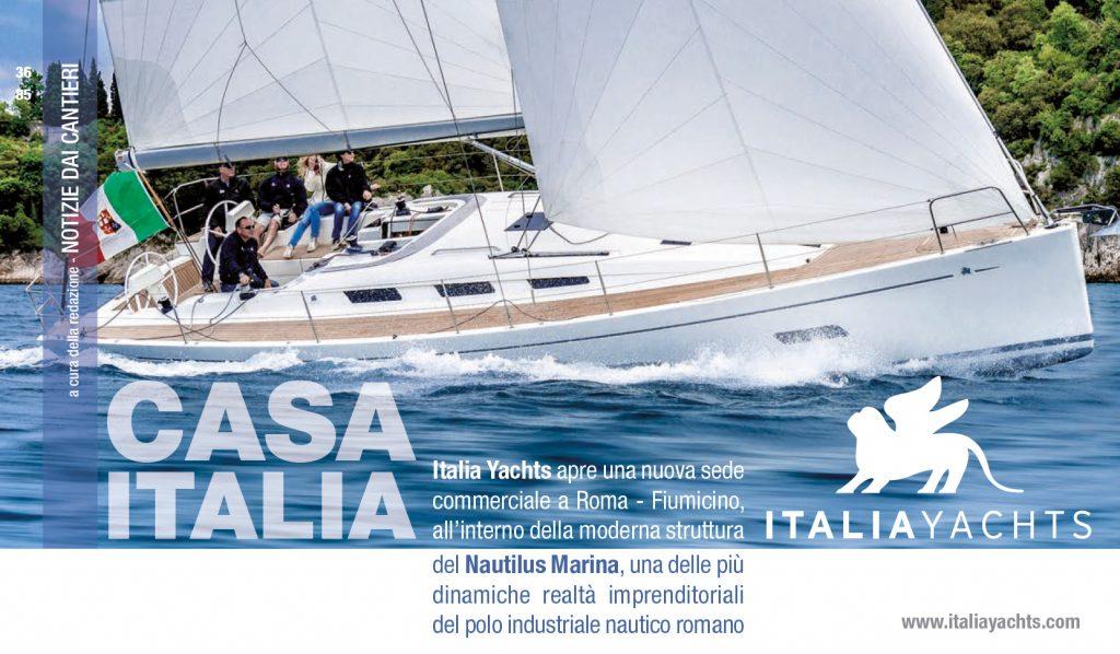 UVAI Magazine_Italia Yachts